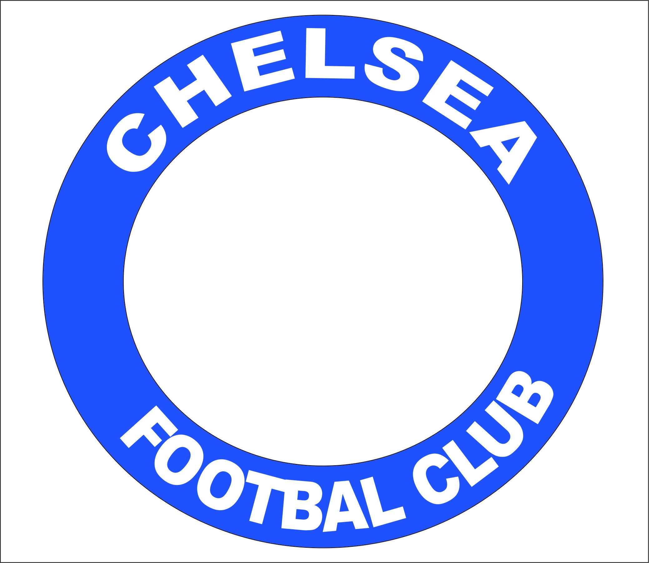 RED DARK DEVIL: Membuat Logo Chelsea FC Di Corel Draw